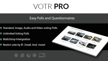 Download Votr Pro Easy WordPress Vote Poll Plugin - Free Wordpress Plugin