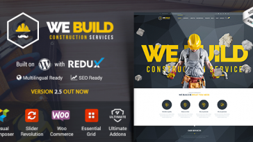 Download We Build - WP Construction, Building Business, Renovation and Architecture Free