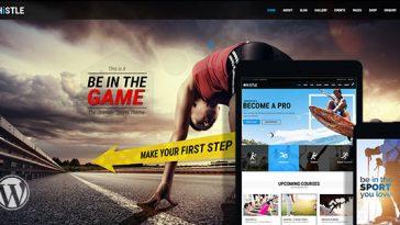 Download Whistle Sport v.4.9.8 - Sports Club Theme Free