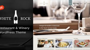 Download White Rock v.4.3 - Restaurant & Winery Theme Free
