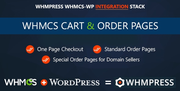 Download WHMCS Cart & Order Pages One Page Checkout - Free Wordpress Plugin