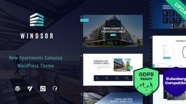 Download Windsor - Apartment Complex / Single Property WordPress Theme Free