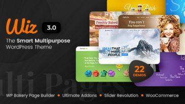 Download Wiz v.3.0.8 - The Smart Multi-Purpose WordPress Theme Free