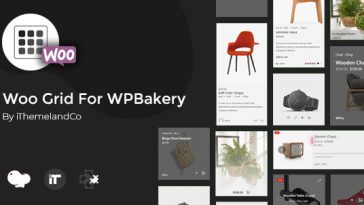 Download Woo Grid For WPBakery Page Builder (Visual Composer)  - Free Wordpress Plugin