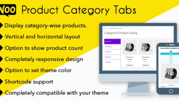 Download Woo Product Category Tabs CloudBerriez - Free Wordpress Plugin