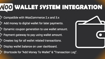 Download Woo Wallet System CloudBerriez - Free Wordpress Plugin
