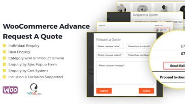 Download WooCommerce Advance Request A Quote Product Enquiry - Free Wordpress Plugin