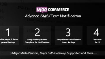 Download WooCommerce Advance SMS/Text Notification  - Free Wordpress Plugin
