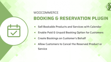 Download WooCommerce Booking & Reservation Plugin  - Free Wordpress Plugin