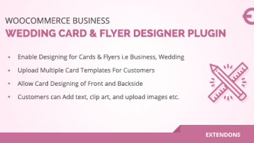 Download WooCommerce Business, Wedding Card & Flyer Designer Plugin  - Free Wordpress Plugin