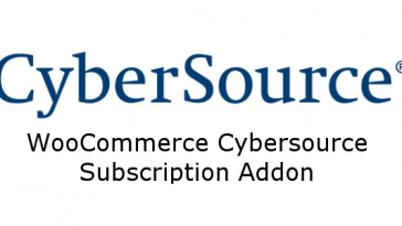 Download WooCommerce Cybersource Subscriptions Addon  - Free Wordpress Plugin