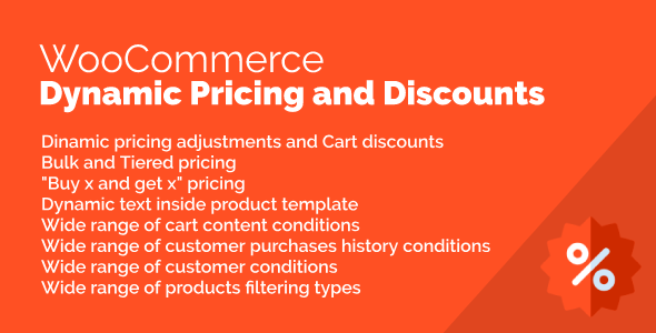 Download WooCommerce Discounts and Dynamic Pricing   - Free Wordpress Plugin