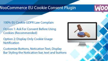 Download WooCommerce EU Cookie Consent Plugin, Wordpress GDPR Compliance  - Free Wordpress Plugin