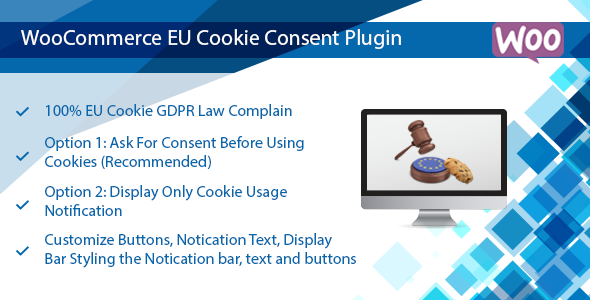 Download WooCommerce EU Cookie Consent Plugin, Wordpress GDPR Compliance  - Free Wordpress Plugin