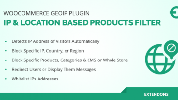 Download WooCommerce Geolocation Plugin IP Based Products Filter - Free Wordpress Plugin
