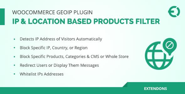 Download WooCommerce Geolocation Plugin IP Based Products Filter - Free Wordpress Plugin