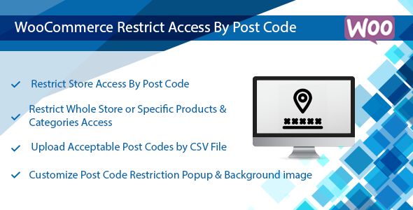 Download WooCommerce Plugin: Restrict Store / Catalog Access by Post Code  - Free Wordpress Plugin