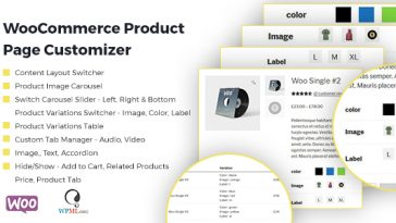 Download WooCommerce Product Page Customizer  - Free Wordpress Plugin