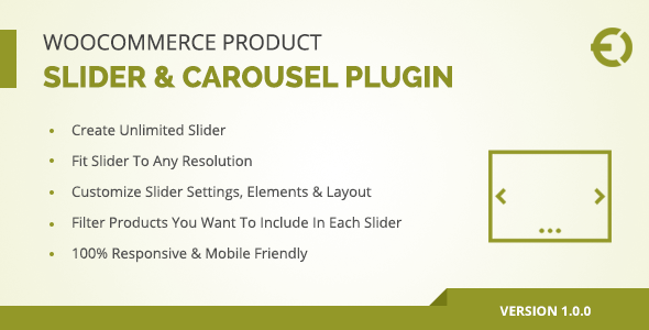 Download WooCommerce Product Slider & Carousel Plugin  - Free Wordpress Plugin