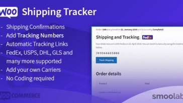 Download WooCommerce Shipping Tracker Let Your Customers Track Their Shipments! - Free Wordpress Plugin