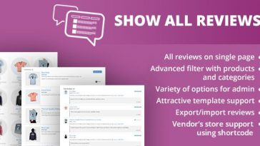 Download WooCommerce Show All Reviews  - Free Wordpress Plugin