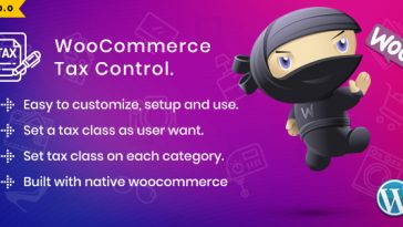 Download WooCommerce Tax Control  - Free Wordpress Plugin