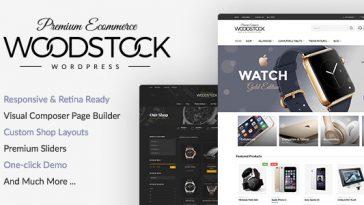 Download Woodstock - Electronics Responsive WooCommerce Theme Free