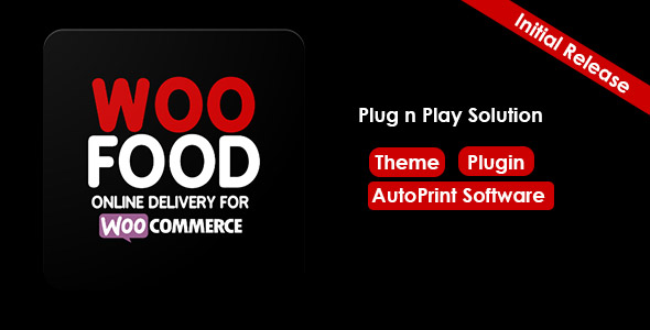 Download WooFood Online Delivery for WooCommerce & Automatic Order Printing - Free Wordpress Plugin