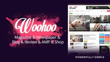 Download Woohoo - Modish News, Magazine and Blog Theme Free