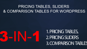 Download WordPress Pricing Tables, Sliders & Comparison Tables  - Free Wordpress Plugin