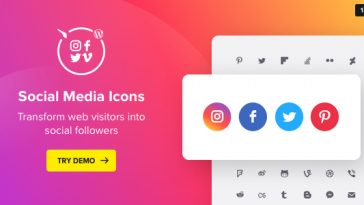 Download WordPress Social Media Icons Social Icons Plugin - Free Wordpress Plugin