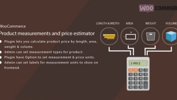Download WordPress WooCommerce Measurement Price Estimator  - Free Wordpress Plugin
