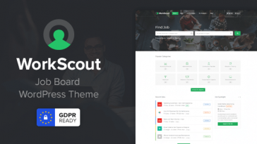 Download WorkScout - Job Board WordPress Theme Free