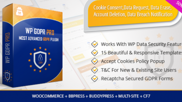 Download WP GDPR PRO Most Advanced GDPR Plugin - Free Wordpress Plugin