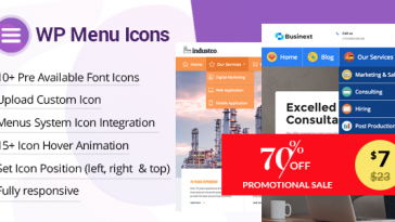Download WP Menu Icons Effectively Add & Customize Icons For WordPress Menus - Free Wordpress Plugin