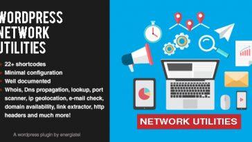 Download Wp Network Utilities  - Free Wordpress Plugin