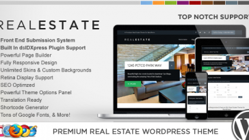 Download WP Pro Real Estate 6 - Responsive WordPress Theme Free