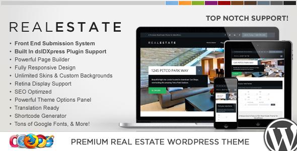 Download WP Pro Real Estate 6 - Responsive WordPress Theme Free