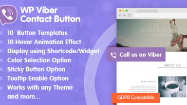 Download WP Viber Contact Button Premium Viber Contact Button Plugin for WordPress - Free Wordpress Plugin