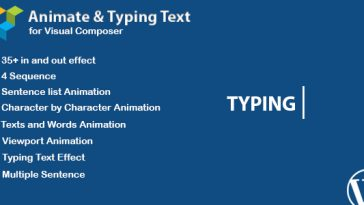 Download WPBakery Page Builder Animated Text and Typing Effect (formerly Visual Composer) - Free Wordpress Plugin