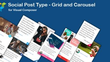 Download WPBakery Page Builder Social News Post Type Grid and Carousel (formerly Visual Composer) - Free Wordpress Plugin