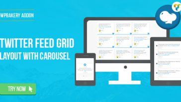 Download WPBakery Page Builder Twitter Feed Grid With Carousel(formerly Visual Composer) - Free Wordpress Plugin