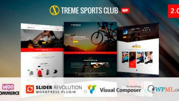 Download Xtreme Sports - WordPress Theme Free