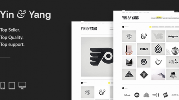 Download Yin & Yang - Modern, Responsive, Clean & Creative WordPress Portfolio Theme, powered by AJAX Free