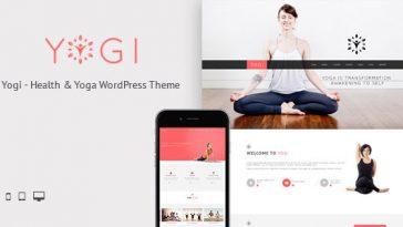 Download Yogi v.4.9.8 - Health Beauty & Yoga WordPress Theme Free