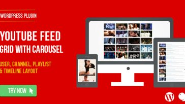 Download YouTube Feed : User, Channel and Playlist for WordPress  - Free Wordpress Plugin