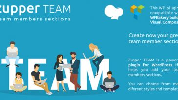 Download Zupper TEAM members sections for your wordpress themes Visual Composer / WPBakery compatible - Free Wordpress Plugin