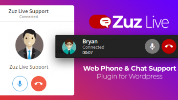 Download Zuz Live Web Phone Call & Chat Support Plugin for Wordpress  - Free Wordpress Plugin