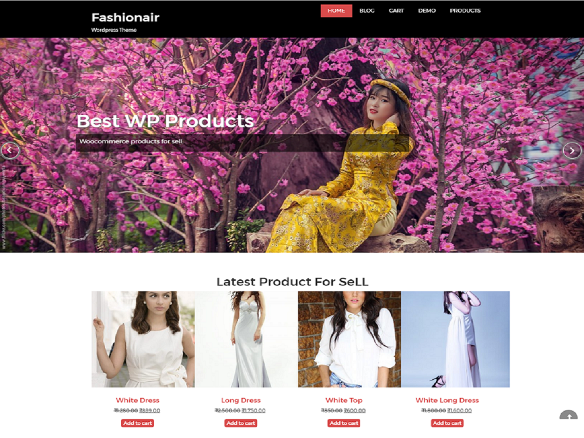 Download fashionair 2.2.8 – Free WordPress Theme